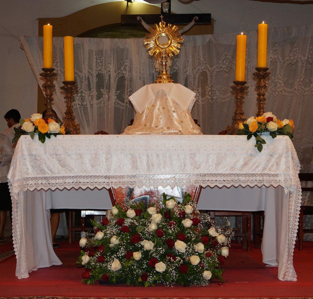 Solenidade de Corpus Christi na Paróquia Santuário São José